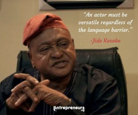 Jide Kosoko - Biography, Early Career And Net Worth Of A