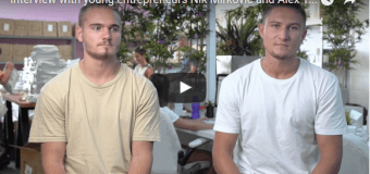Young entrepreneurs Nik Mirkovic and Alex Tomic answer what it takes to be an entrepreneur