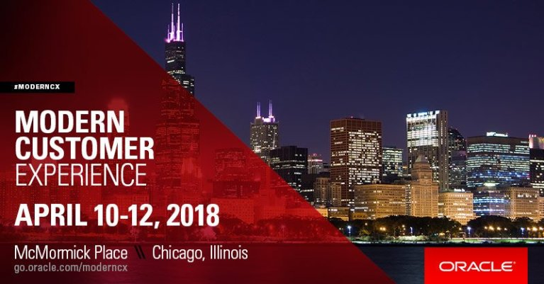 Modern Customer Experience 2018- Chicago, IL