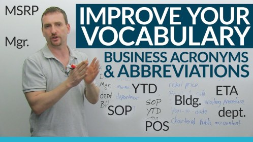 business abbreviations