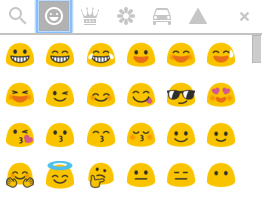 email design guide emoji google