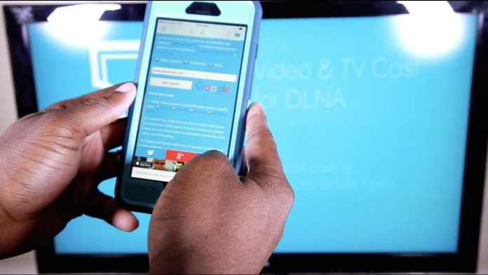 Smartphone to your TV