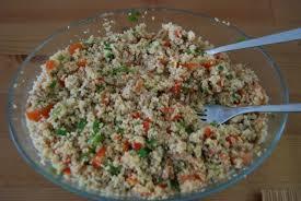Ensalada de sardinas y arroz al estilo marroquí