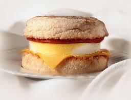 Huevos frítos en Muffins