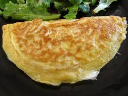 omelette queso setas