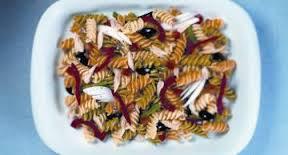 Nicoise de pasta y anchoas