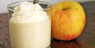 Mousse de manzana