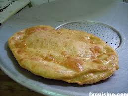 Pizza frita