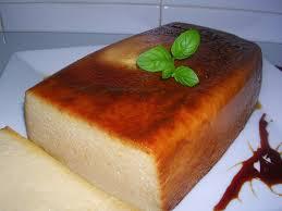 Puding de queso