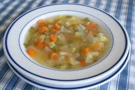 Sopa vegetal de Baden