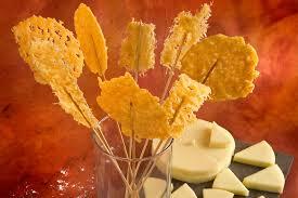 Piruletas de parmesano