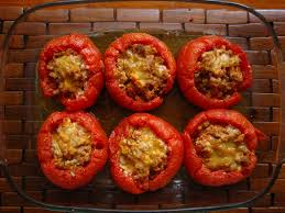 Tomates rellenos de carne