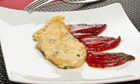 pechugas de pollo con pimientos del piquillo