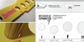 Medidor para Espaguetis