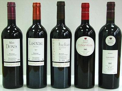 Vinos catalanes – el Priorat