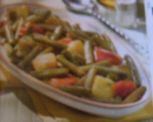 verduras guisadas con arroz