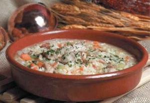 arroz a la cazuela con lomo de cerdo ibarico