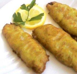 filetes de sardinas rebozadas