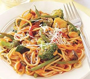 Espaghetti de primavera