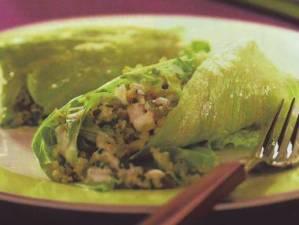 Rollitos de arroz con hortalizas
