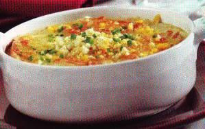 Sopa de cebolla y huevo