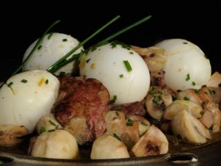 Estofado de huevos