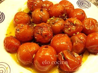 Tomates Cherry al orégano