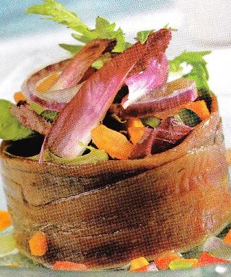 Ensalada de anchoas