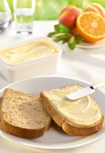 La margarina es importante en la dieta mediterránea