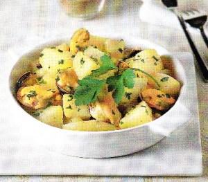 Mejillones con patatas