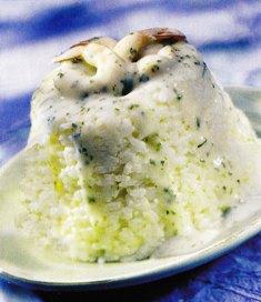 arroz con gambas
