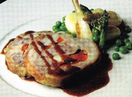 Filetes de solomillo rellenos de foie