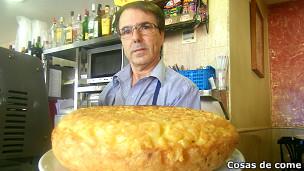 Tortilla de patata con licenciatura
