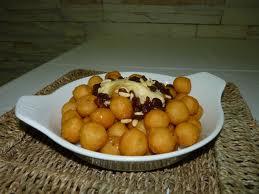 Patatas fritas en bolitas