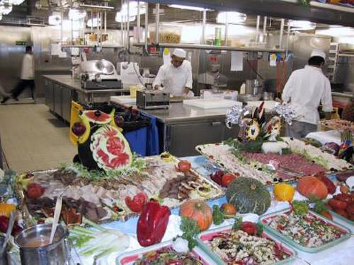 Descubre nueva gastronomía a la vez que disfrutas de un crucero