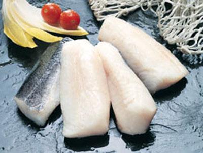 Lomos de bacalao con sidra en la thermomix