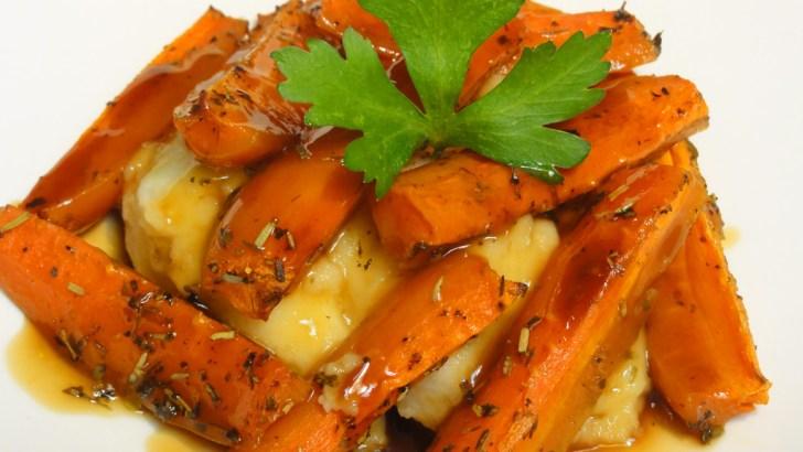 Zanahoria asadas