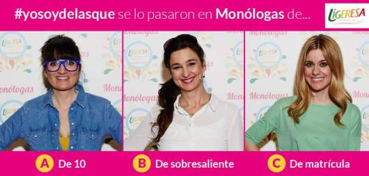Ríete de las calorías con la campaña Monólogas de Ligeresa