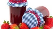 Mermelada de fresas y bayas de goji