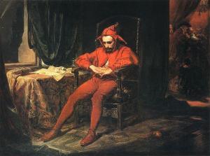 """""""Stanczyk o El bufón"""", de Jan Matejko (1838-1893)"""