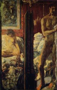 """""""L´homme et la femme"""", de Pierre Bonnard (1900). Museo de Orsay de París."""