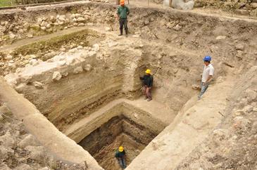 El centro de Ceibal es el más antiguo con la estructura ceremonial típica de los mayas. / Takeshi Inomata