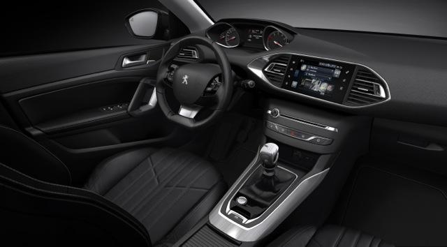 Peugeot 308 interior II