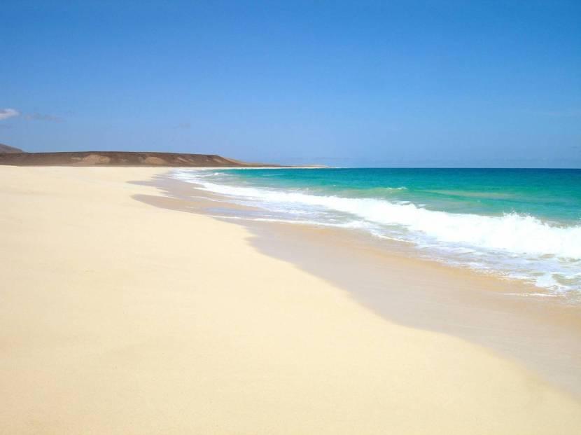 Playa de Corralejo, Fuerteventura.