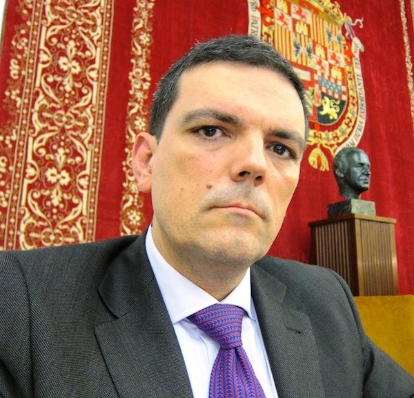 Francisco Díez de Velasco, catedrático de Historia de las Religiones.