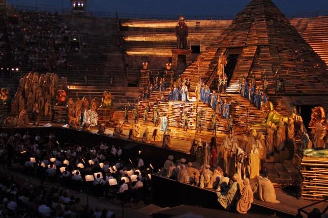 Aida in Verona Arena - 08