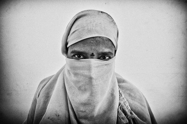 Nagalaksmi, mujer india de 34 años víctima de trata con fines de explotación sexual que se negó a prostituirse. / Rafa Gassó