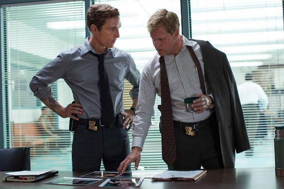 Matthew McConaghey y Woody Harrelson, buenos actores de cine ahora en la tele. Foto: Especial