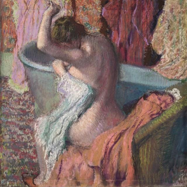 Edgar Degas Después del baño