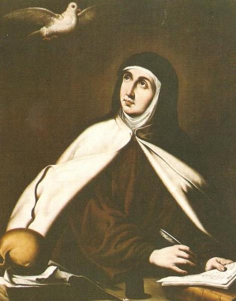 Santa Teresa de Jesus, siglo XII, Zurbaran